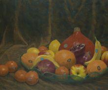 Stilleben-Granatapfel